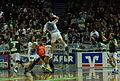 Pascal Hens throwing DKB Handball Bundesliga HSG Wetzlar vs HSV Hamburg 2014-02 08.jpg