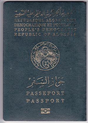 Visa requirements for Algerian citizens - Algerian passport