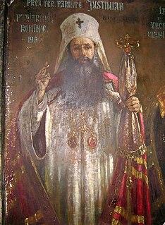Patriarch Justinian of Romania Patriarch of Romanian Orthodox Church