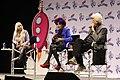 Patricia Quinn & Barry Bostwick RHPS Q&A at Galaxycon Richmond 2019 09.jpg