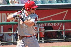 St. Louis Cardinals minor league players - Wisdom with the Memphis Redbirds in 2017