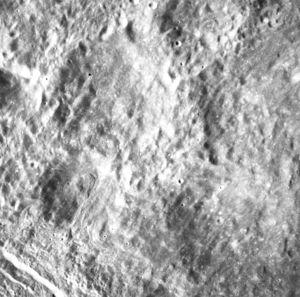 Patsaev (crater) - Image: Patsaev crater AS15 M 0306