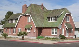 National Register of Historic Places listings in Graham County, Arizona - Image: Paul Brooks house (Safford AZ) from SW 1