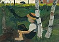 Paula Moderson-Becker - Knabe am Weg unter Birken (1900).jpg
