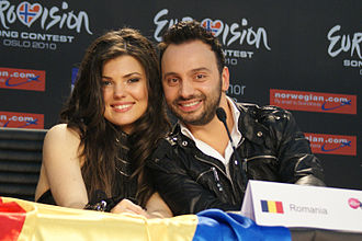Romania in the Eurovision Song Contest - Image: Paula Seling & Ovi ESC 2010
