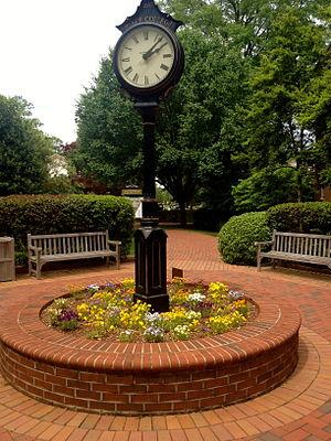 William Peace University - Peace College Courtyard