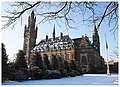 Peace Palace covered by the first flakes of snow of 2009.jpg