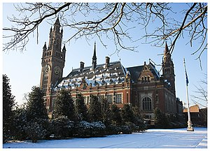 International labor standards - Peace Palace, the headquarters for the International Court of Justice