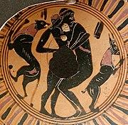Homem romano penetrando um jovem, possivelmente escravo, primeira metade do século I. Encontrado próximo de Jerusalém.