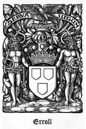 Earl of Erroll - Coat of arms of the Earls of Erroll, The Scots Peerage