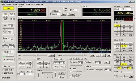 PC spectrum display of a modern software defined shortwave receiver Penny Mercury.jpg