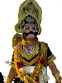 Performing the role of King Ravana.jpg