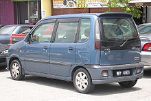 Perodua Kenari (first generation) (rear), Serdang.jpg