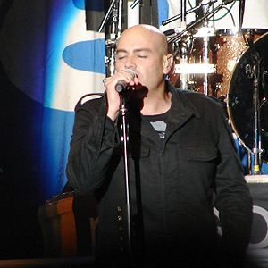 Creation Festival - Peter Furler, former lead singer of the Newsboys, performing in 2007