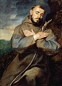 Peter Paul Rubens - Saint Francis - 1983.372 - Art Institute of Chicago.jpg