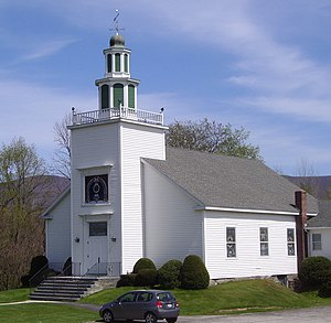Petersburgh, New York - Petersburg Baptist Church on Route 22 (2012)