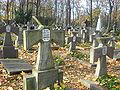 Petlurowcy groby na cmentarzu prawosławnym.JPG