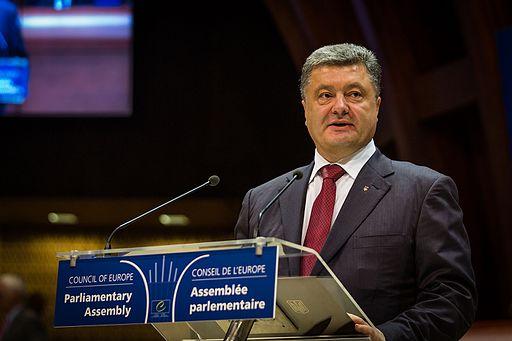 Petro Porochenko au Conseil de l'Europe Strasbourg 26 juin 2014 01