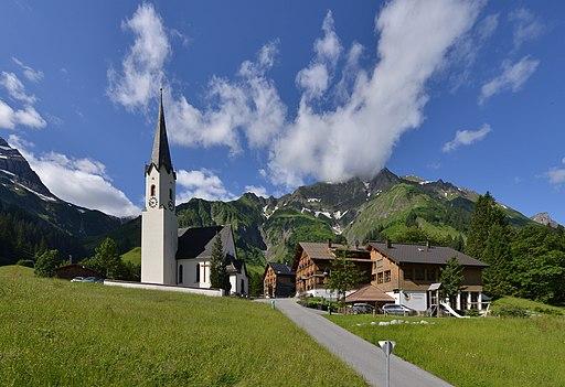 Pfarrkirche Mariä Himmelfahrt (Schröcken)