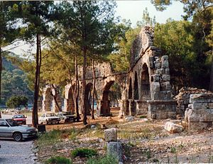 Phaselis - The aqueduct