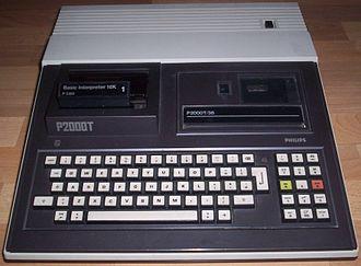 Philips P2000 - Philips P2000T