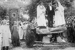 Gorsedd - Goursez Vreizh (the Gorsedd of Brittany) in 1906
