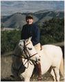 Photograph of President Reagan Horseback Riding at Rancho Del Cielo - NARA - 198580.tif