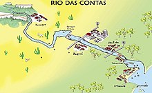 Pictorial-poetic image of the Das Contas River, Bahia.jpg