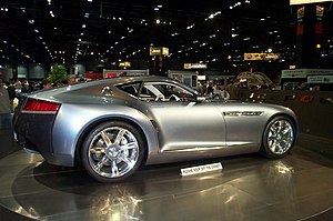 Chrysler Firepower - The Chrysler Firepower at the 2005 Chicago Auto Show.
