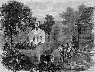 Theodore R. Davis - Image: Pictures of the South Barbecue at Augusta, Georgia