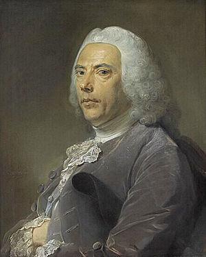 Pierre Bouguer - Pierre Bouguer. Jean-Baptiste Perronneau, 1753.