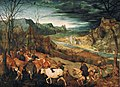 Pieter Bruegel (I) - The Return of the Herd (1565).jpg