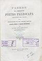 Pietro Paleocapa – Parere del commendatore Pietro Paleocapa senatore , 1868 - BEIC 6276132.tif