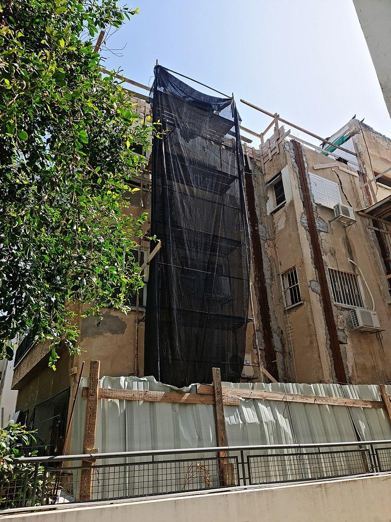 תל אביב מבנה לשימור רחוב אחד העם 142