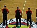 Piotr Pastusiak, Sreten Radovic & David Romano (referee) Fenerbahçe vs Baloncesto Málaga EuroLeague 20180405 (1).jpg