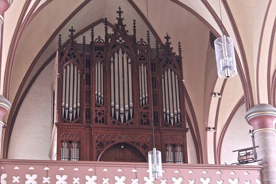 Pipe organ of Église Saint-Étienne (Bissen)