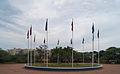 Plaaza de las banderas en la Vereda del Lago.jpg