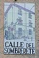 Placa de la calle del Sombrerete.jpg