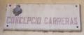 Placa del carrer Concepció Carreras, a Olot.png