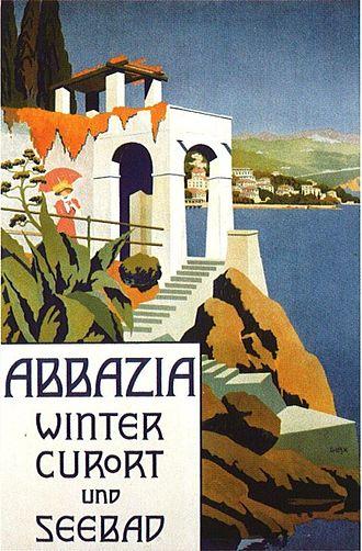 Opatija - 1911 poster