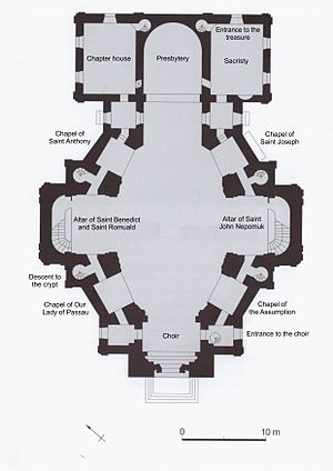 Camaldolese Church, Warsaw - Plan of the Camaldolese Church, Warsaw