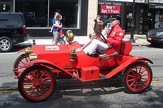 Fire chief's vehicle - A Metz model 22 in Plandome, New York