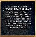 Plaque Josef Engelhart, 1030 Vienna, 2017.jpg