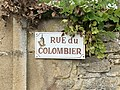 Plaque Rue Colombier - Vault-de-Lugny (FR89) - 2021-05-17 - 2.jpg