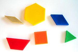 Pattern Blocks - Plastic Pattern Blocks