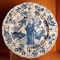 Plate, China, Ming dynasty, 16th-17th century AD, porcelain - Museo Nacional de Artes Decorativas - Madrid, Spain - DSC07945.JPG