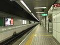 Platform of Tengachaya Station (Sakaisuji Line) 2.jpg