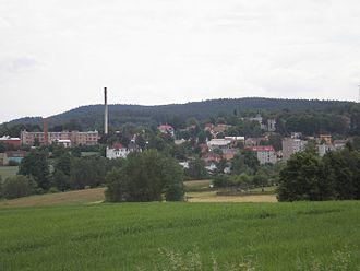 Plesná (Cheb District) - Image: Plesná 2008 06 14