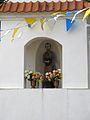 Podlaskie - Brańsk - Brańsk - Poniatowskiego, Kilińskiego, Binduga - Kapliczka św. Piotra 20110903 02.JPG