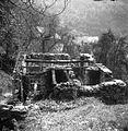 """Pogorišče hiše """"pri Leban"""", Planina 1954.jpg"""